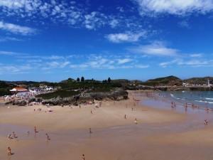 Playa Palombina y las Camaras