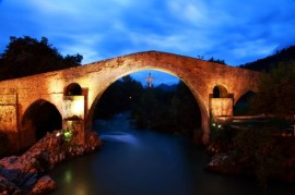 Puente de Cangas de Onís, Asturias, Cultura