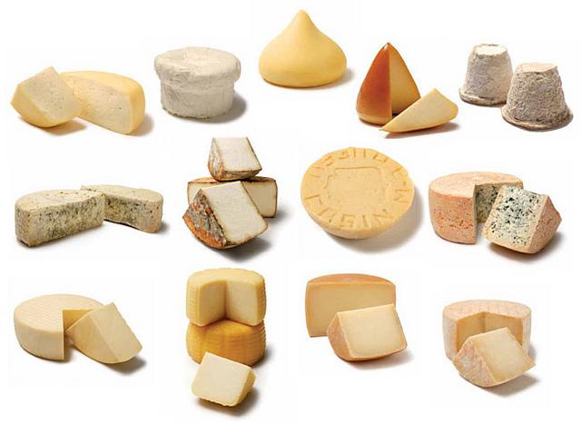 feria del queso y productos locales.