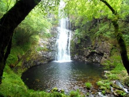 Cascada del Cioyo, Los Oscos