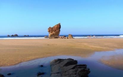 Playa de Aguilar, Asturias