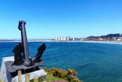 Vistas de la Playa de Salinas, Asturias