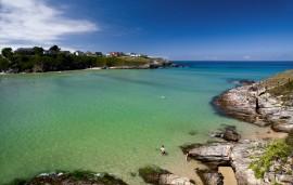 Playa de Anguileiro, Asturias