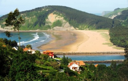 Playa de Rodiles, Villaviciosa, Asturias
